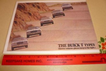 1983 Buick Regal Literature