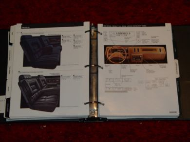 1986 buick sales manual