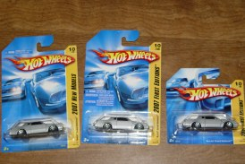 2007 Hot Wheels Buick Grand National: Red, Silver