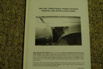 Aftermarket Turbo Buick Regal How-to Books