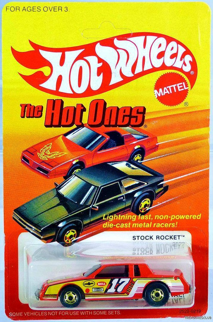 HW hot ones stock rocket diff card