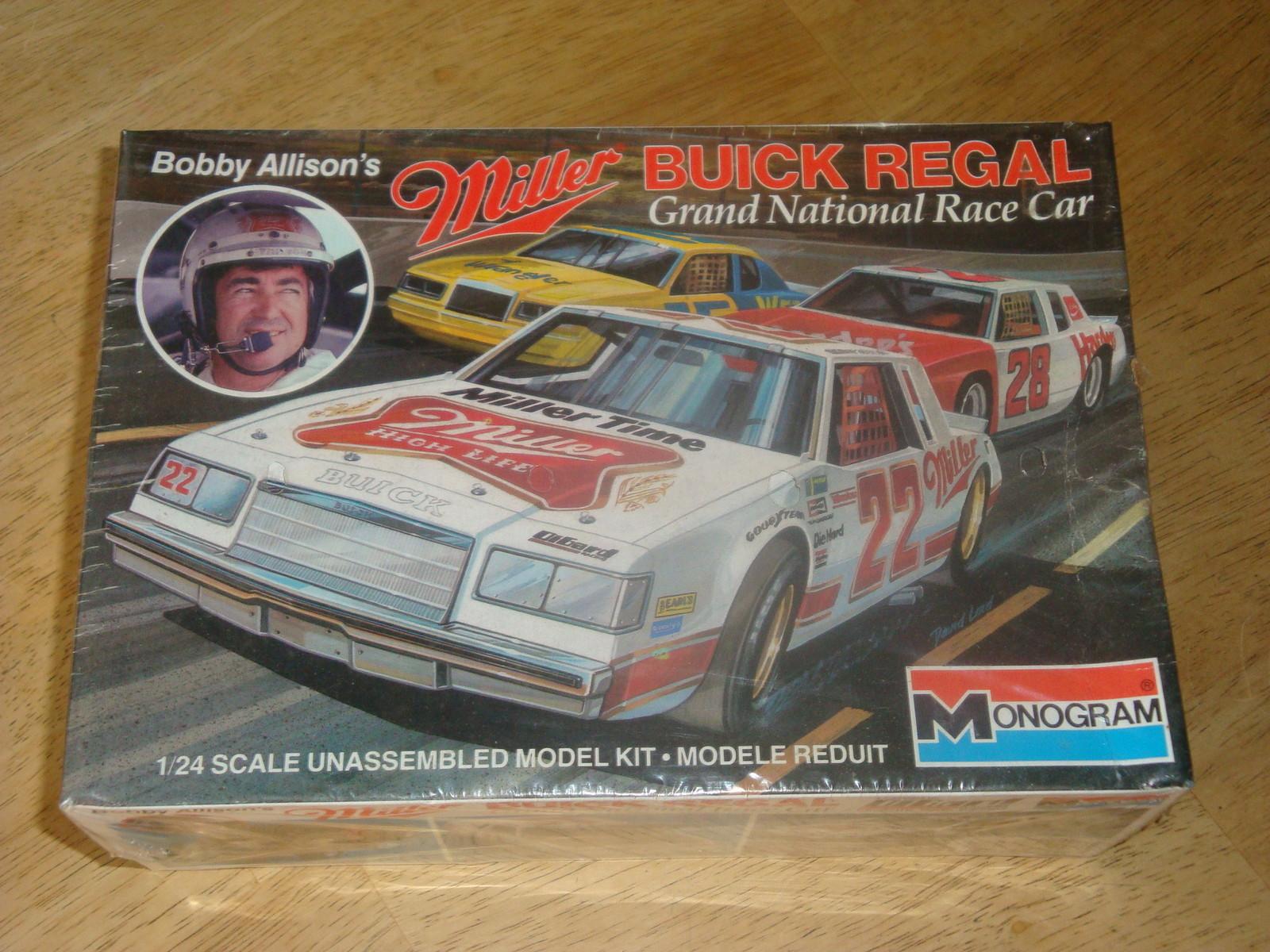 Monogram Bobby Allison Miller Buick Regal Model Kit