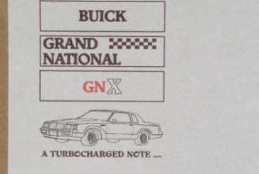 Misc Buick GN Collectibles