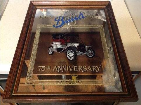 buick 75th anniversary mirror