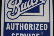 Buick Service Signs