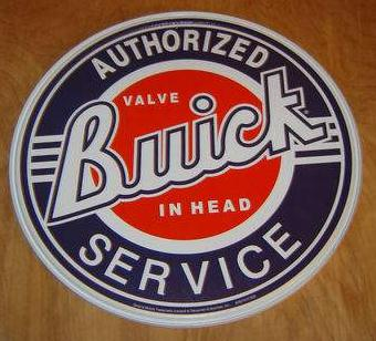 buick authorized service sign