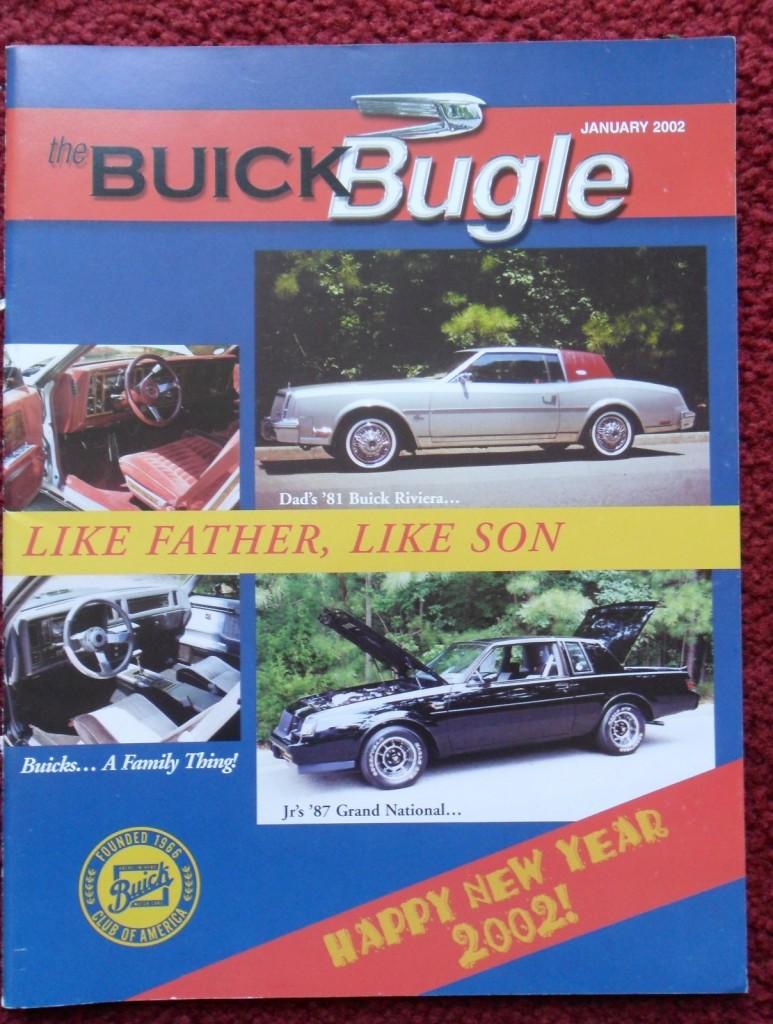 buick bugle newsletter