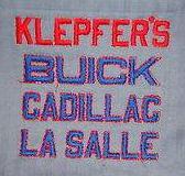 buick cloth uniform patch