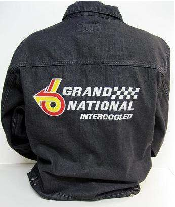 buick grand national denim jacket