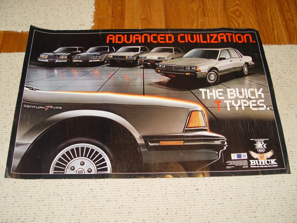 buick t-types poster