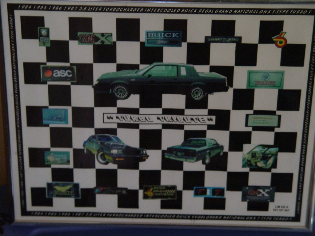 buick turbo tribute print
