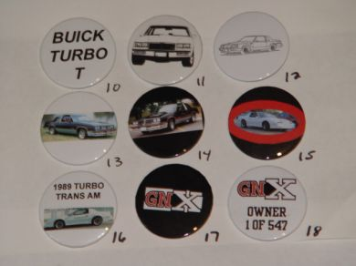 turbo buick buttons