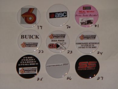 buick buttons