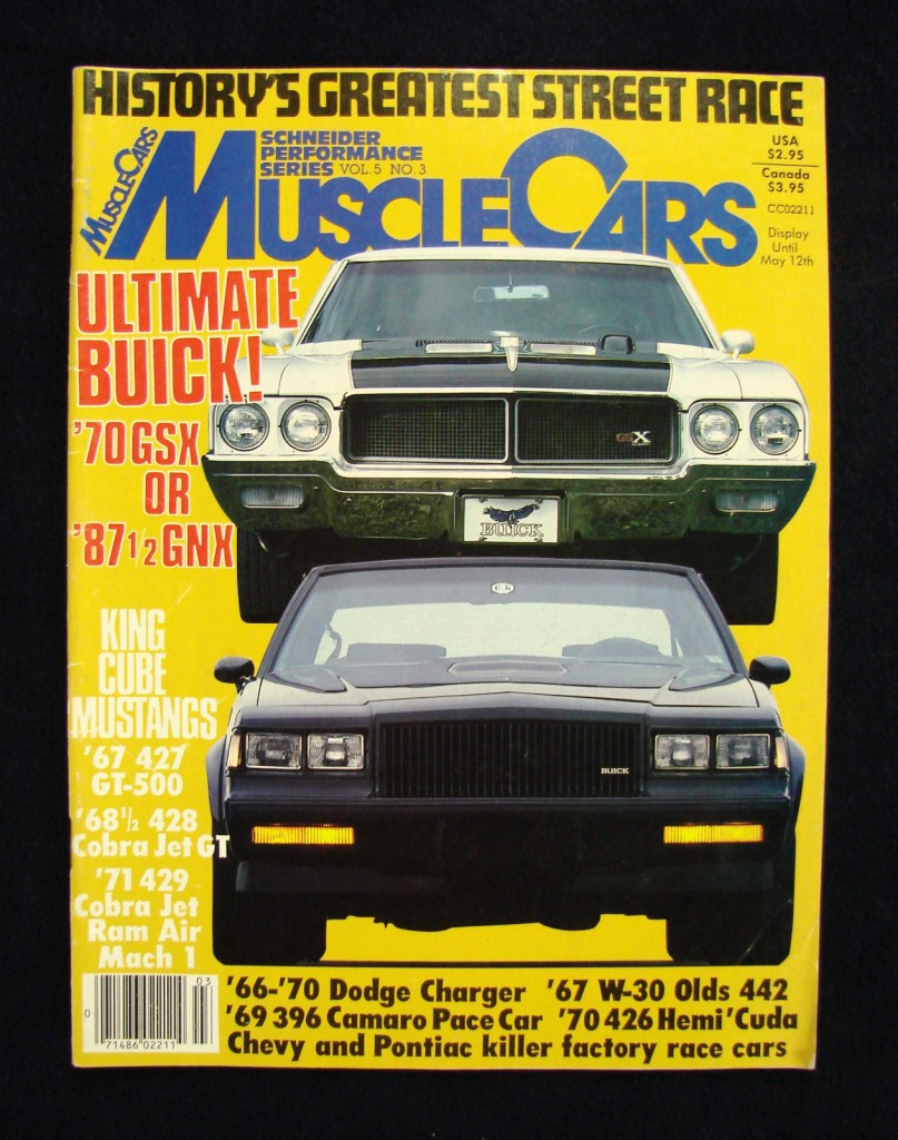 musclecars car magazine