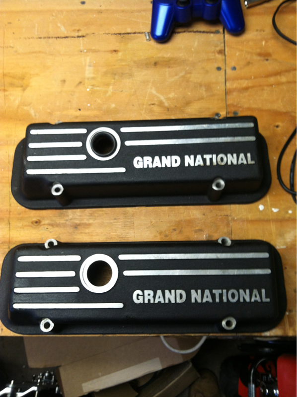 buick gn valve covers