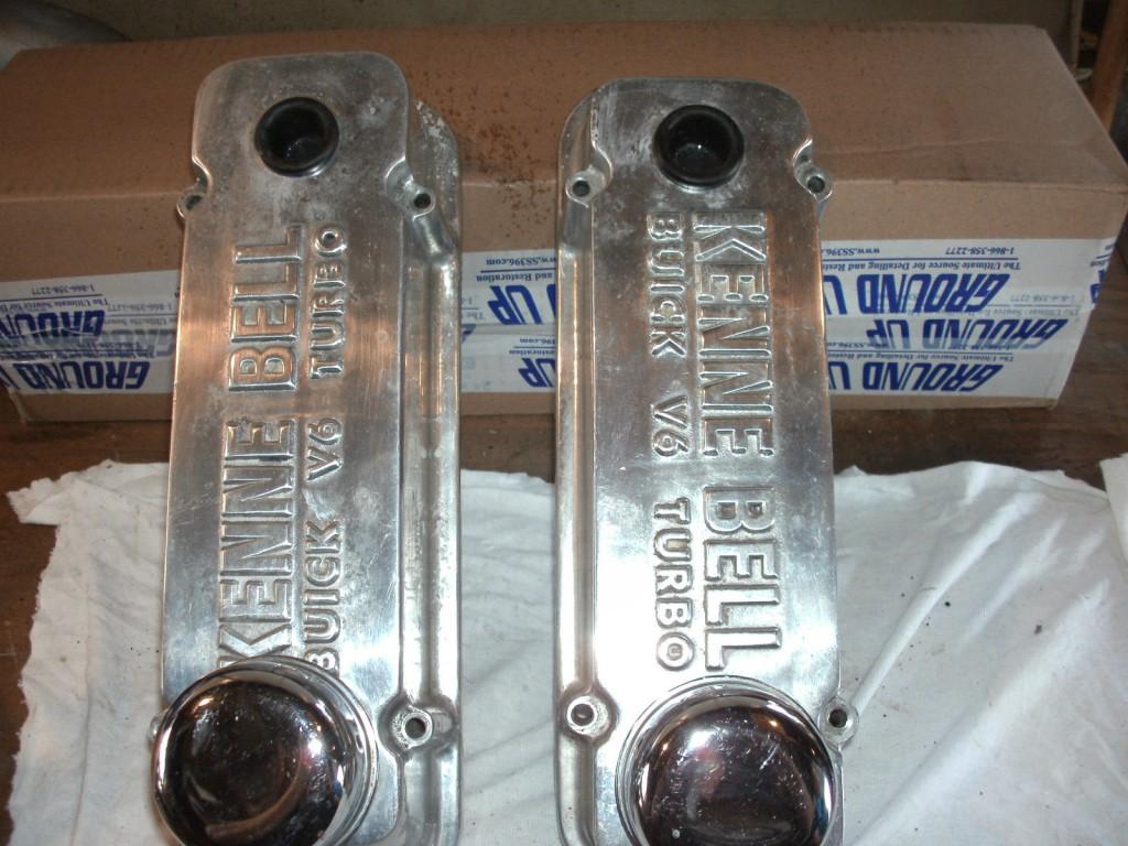 kenne bell aluminum valve covers
