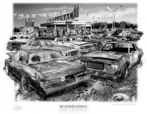 rusty relics print
