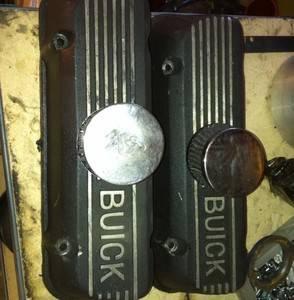 tall buick aluminum valve covers