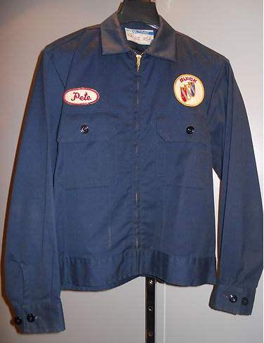 vintage buick mechanic jacket