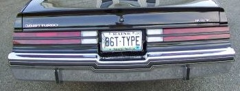 1986 regal t-type