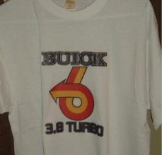 buick 3.8 turbo shirt