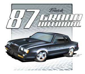 1987 buick gn shirt