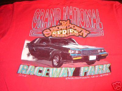 92 buick showdown shirt 2