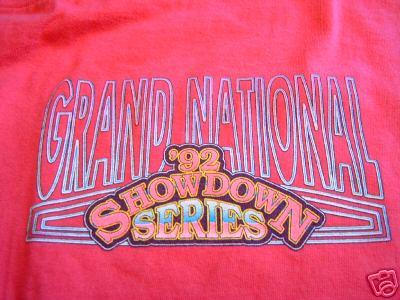 92 buick racing showdown shirt