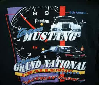 9th annual mustang vs grand national