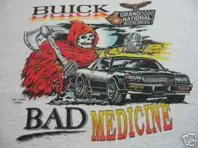 BUICK BAD MEDICINE T SHIRT