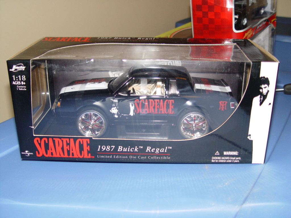 Jada Scarface Buick Regal Grand National