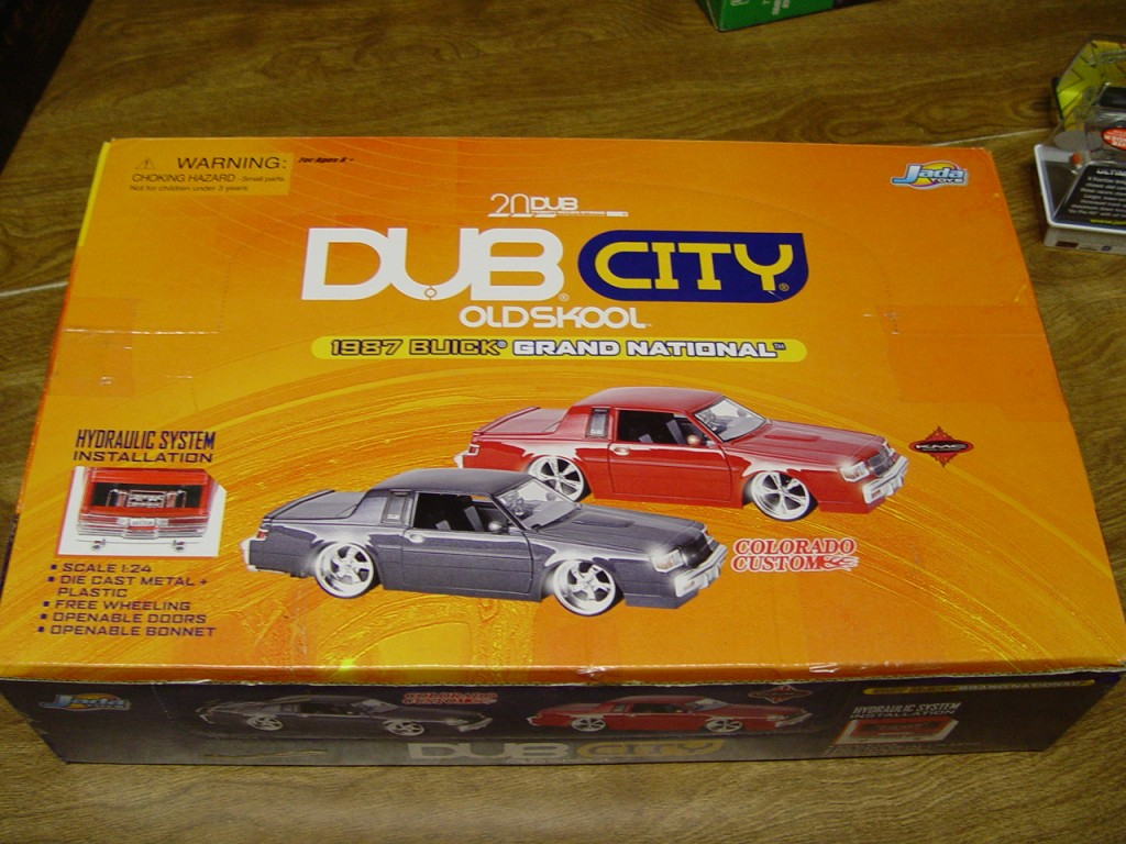 Dub City Boxed Set 1:24 Buick Grand National