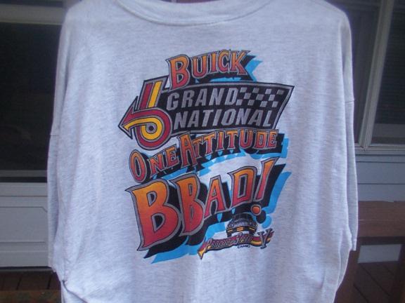 Killer Buicks shirt back