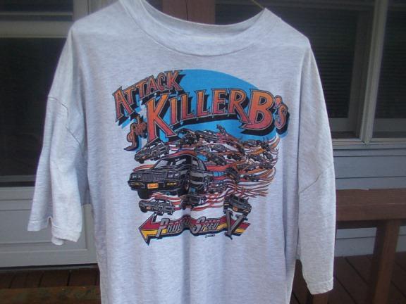 Killer Buicks shirt front