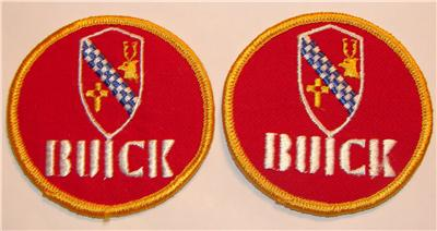 OLD BUICK PATCHES