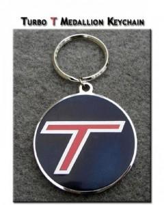 Turbo T Keychain