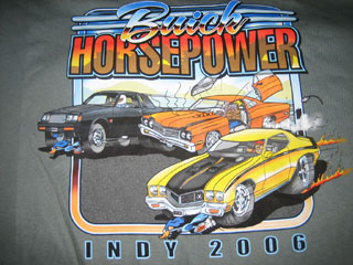 buick bhp 2006 tshirt