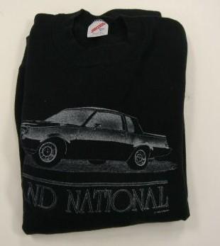 black buick sweatshirt
