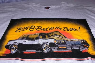 buick bad to the bone shirt