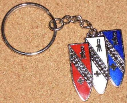 buick cloissone logo keychain