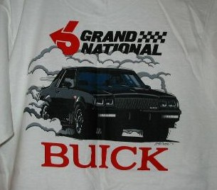 buick grand national tshirt