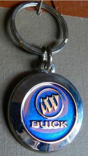 buick logo keychain