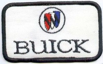 buick crest patch