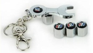 buick valve cap wrench keychain
