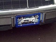buick balls plate