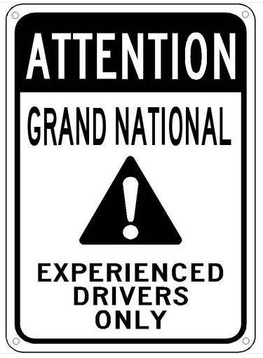 buick experienced drivers sign