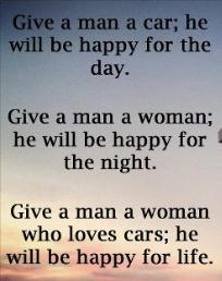 give a man
