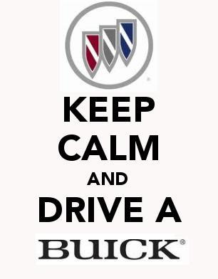keep calm drive a buick