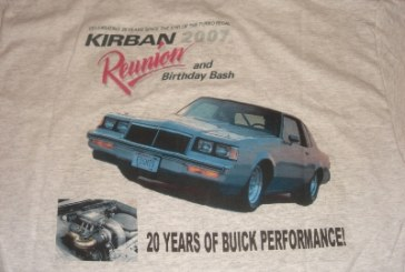 Buick Drag Racing Event Car Meet Shirts