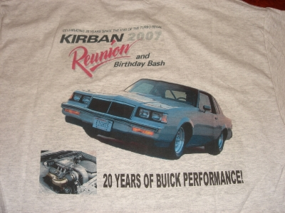 kirban reunion shirt